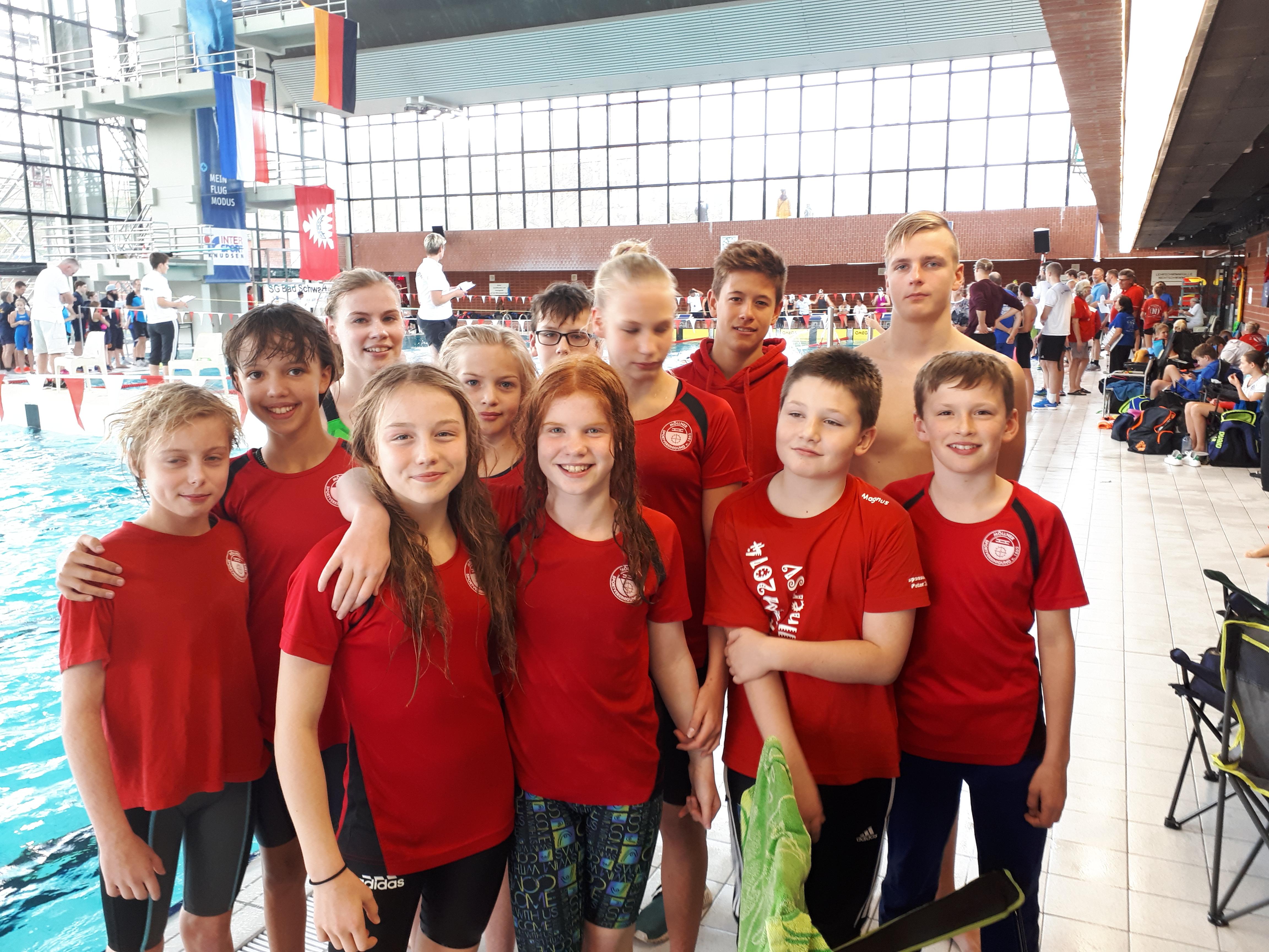 2017 – Möllner SV – Schwimmabteilung